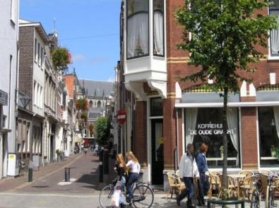 3 Een oud koffiehuis aan de Oude Gracht